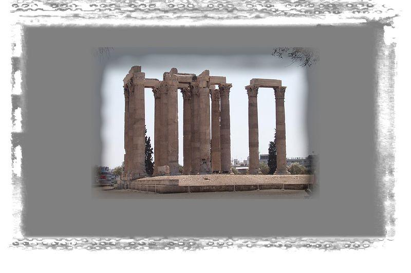 More temple columns.