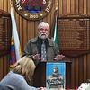Bob Headland. Reception at the Council Chambers, Athy. October 28, 2016.