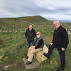 Along the Wild Atlantic Way in Co. Sligo. October 20, 2018. Jim McAdam, Rob Stephenson, Michael Smith.