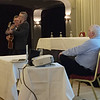 Cliff Wedgbury performing after Michael Smith's talk at the Midleton Hotel. October 25, 2016.