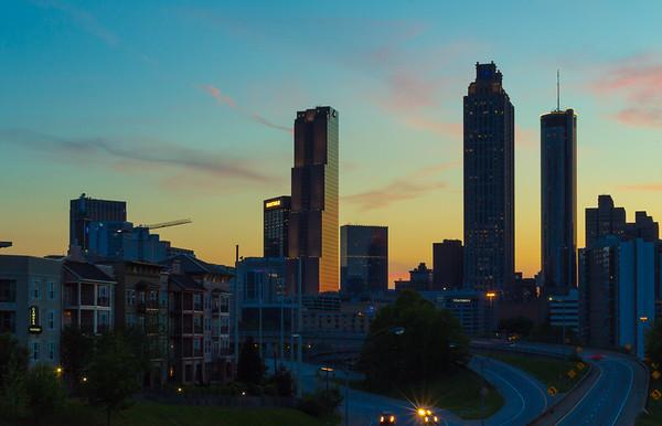 Atlanta Evening Bridges