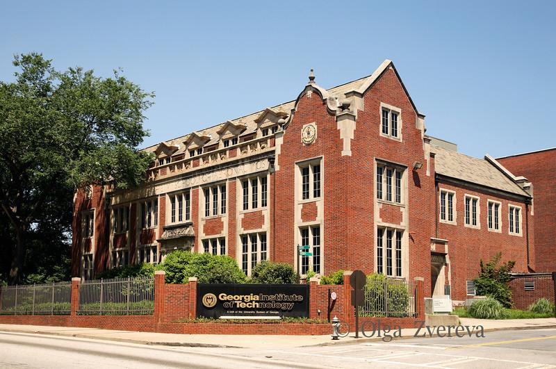 <p>Campus of Georgia Tech, Spring 2010, Atlanta</p>
