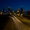 Skyline view from Jackson Street NE in Atlanta Georgia