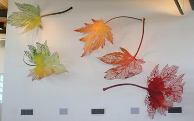 artwork at the Atlanta Botanical Gardens