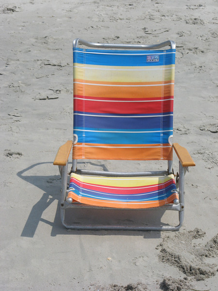Beach Chair of Many Colors