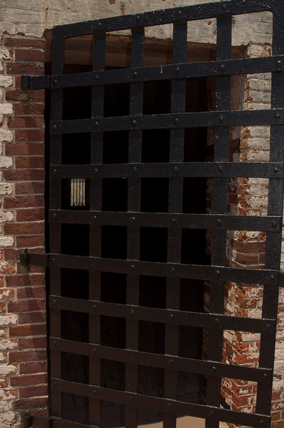 Cell at Fort Macon