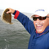 Windowpane Flounder caught on an Ava jig