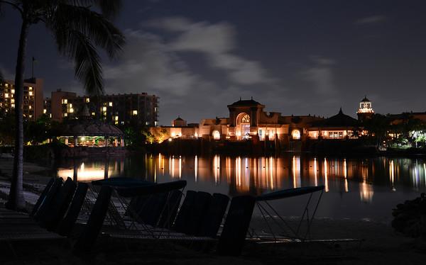 Lagoon at Night