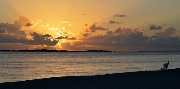 Sunrise on Atlantis Beach 1