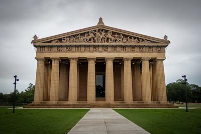 West Entrance of Parthenon in Nashville