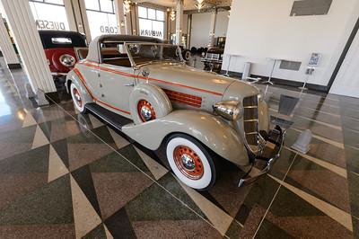 1936 Auburn 654 Cabriolet