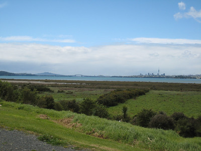 View from Te Atatu Peninsula (used to be Te Atatu North but its gone trendy).