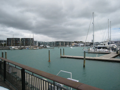 The Viaduct Basin which was once, with the exception of the bottom of Stanley Street, the grottiest part of Auckland.
