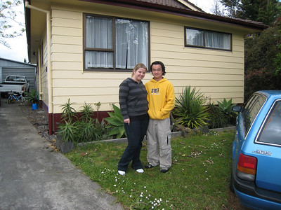 Gene and Som at their place.