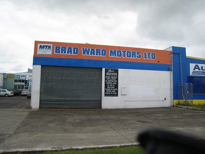 Brad's workshop