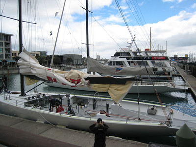 Yachts at the Viaduct