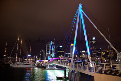 The city lights up when the Volvo Ocean Race comes to Auckland 2012