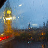 Aber auch in London schaffen wir es nicht, dem Regen zu entkommen.