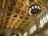 Ottawa. The Ceiling of the Senate Hall