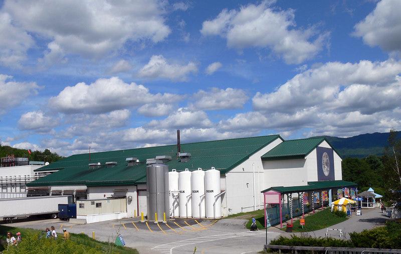 Vermont. Ben & Jerry's Factory