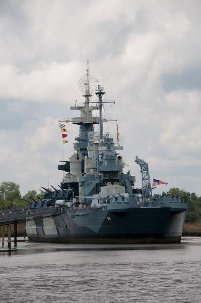 Wilmington, NC - USS North Carolina Battleship