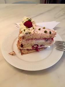 yummy cake at royal smushi cafe
