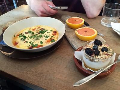 Very tasty first breakfast in copenhagen
