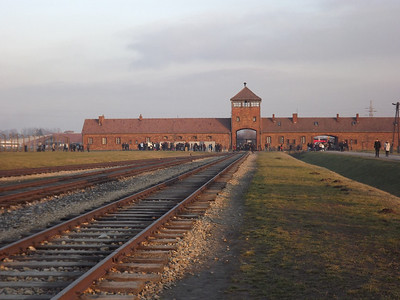 Auschwitz-Birkenau Concentration Camps - Poland, December, 2013