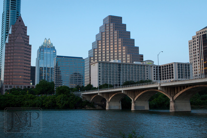 Walking along Lady Bird Lake Trail in Austin, TX.
