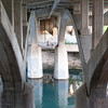 Under the bridge - Walking along Lady Bird Lake Trail in Austin, TX.