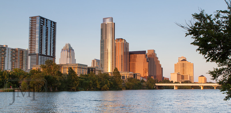 Austin Downtown - Walking along Lady Bird Lake Trail in Austin, TX.