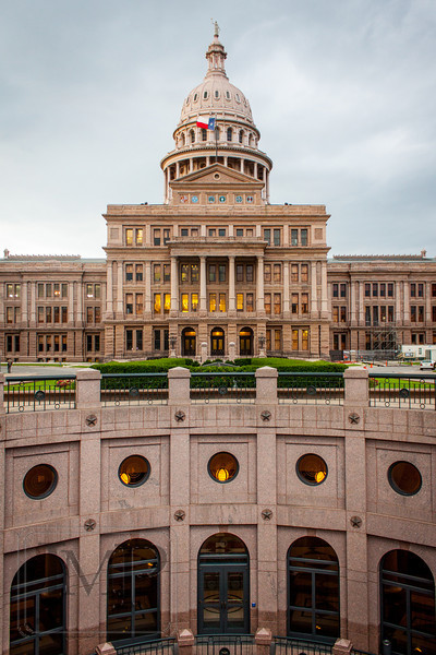 The Capitol Building in Austin, Texas
