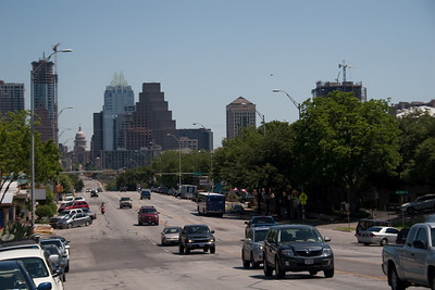 View of Downtown from South Congress