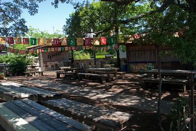 Guero's Taco Bar Courtyard