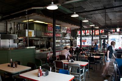 Inside the Blues City Cafe