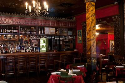 Inside the King's Palace Cafe