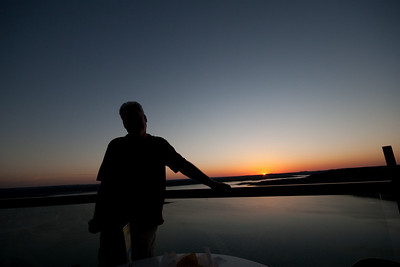 Silhouetted at The Oasis, Lake Travis