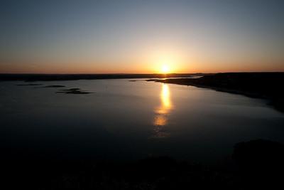 Sunset at The Oasis, Lake Travis