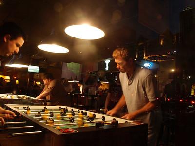 Sports bar.
