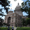 Lone Star State's capitol building, 14 feet taller they say than the U.S. capitol in Washington, DC!