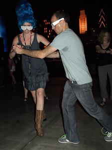 Dancing the Texas Sweat.