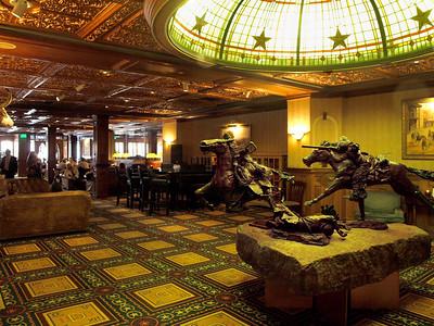 Driskill Hotel bar.