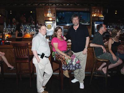 Bar hopping music fans