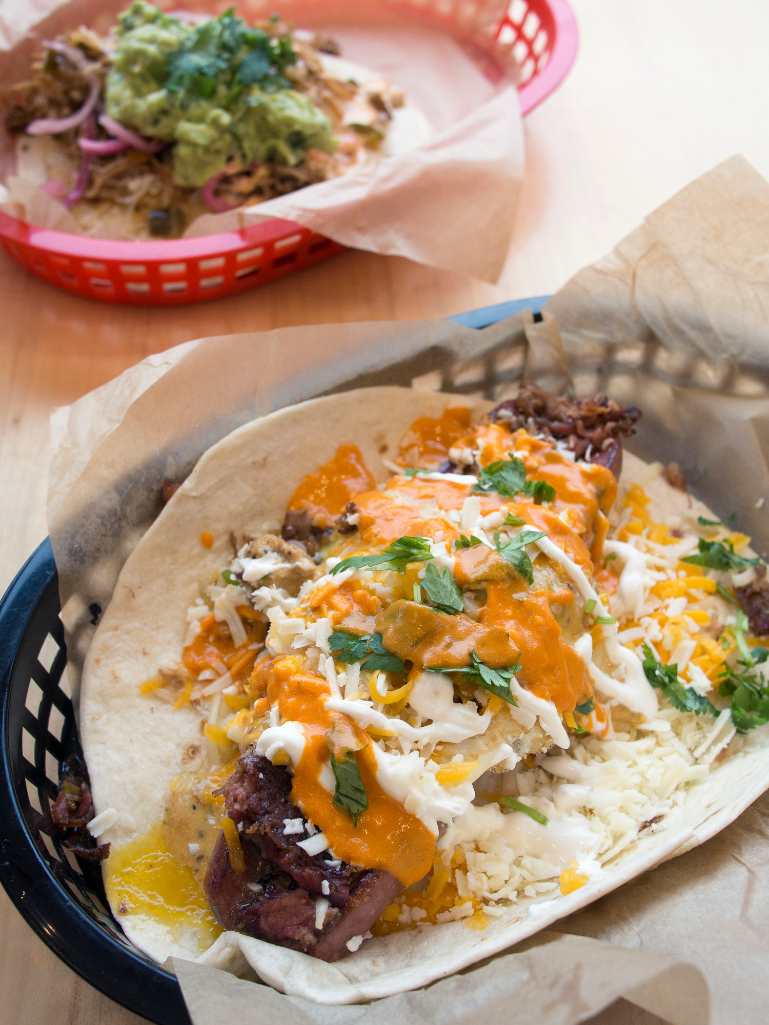 Torchy's secret menu - the Ace of Spades is one of seven secret tacos at Torchy's Tacos.