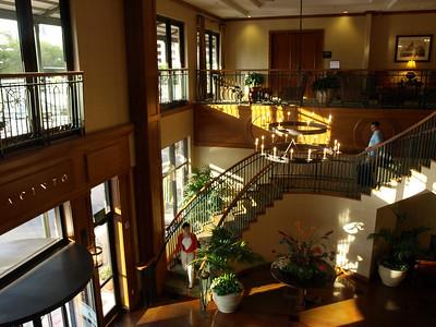 Pleasant hotel.