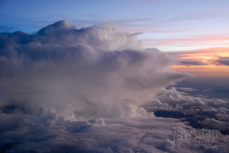 """<span id=""""title"""">Dusk Clouds</span> Same clouds that provided my <a href=""""http://www.jawsnap.net/Daily/year3/11272102_ACXDJ#968109939_rricJ"""">8/12/10</a> photo of the day."""