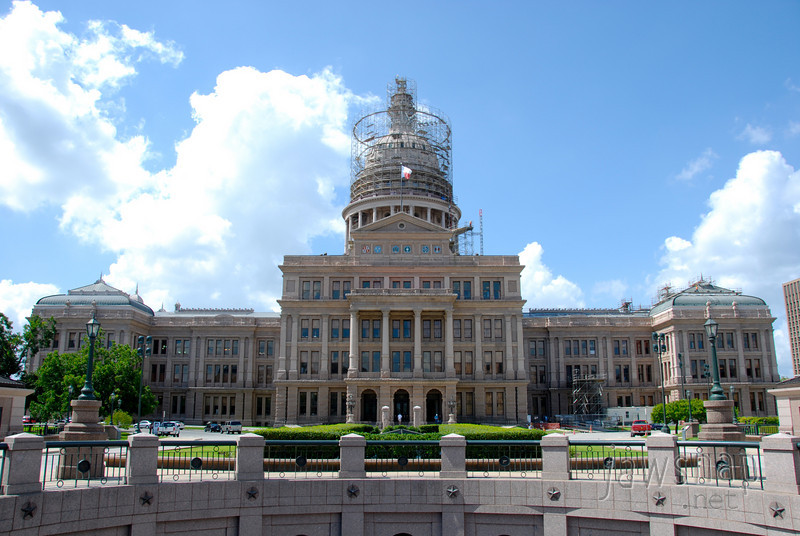 """<span id=""""title"""">Texas State Capitol</span> This would be a cooler photo without the scaffolding, but what can you do?"""