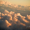 "<span id=""title"">Sunset Clouds</span> Flying from PHX to AUS"