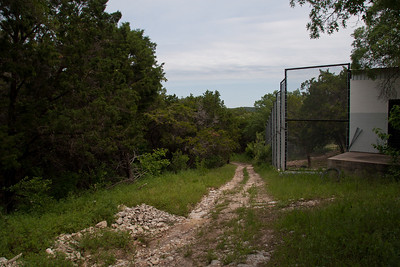 Path Behind The Tiger Cage