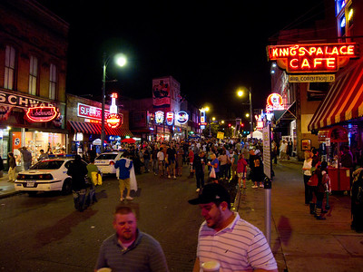 Beale St, Saturday Night